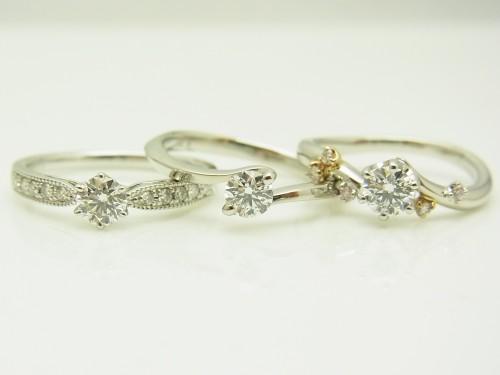 ダイヤルース入荷致しました♪ 婚約指輪 - エンゲージリング