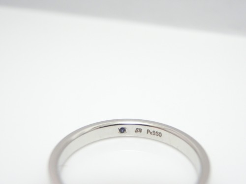 サムシングブルー結婚指輪☆エタニティリング 結婚指輪 - マリッジリング ブライダル