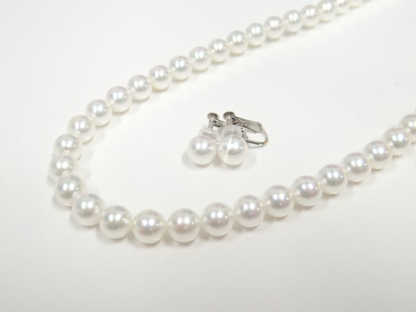 上質なワカナパールで、安心素敵なパールライフ♪ ブライダル 真珠 - パール