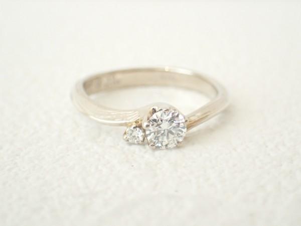 杢目金屋☆エンゲージリング お好みの素材でお作り出来ます♪ ブライダル 婚約指輪 - エンゲージリング