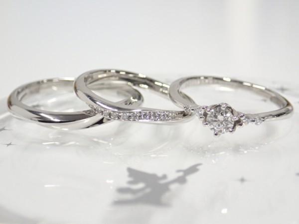サムシングブルー・ディズニーファンタジア☆期間限定プレゼントキャンペーン!! 結婚指輪 - マリッジリング ブライダル 婚約指輪 - エンゲージリング 婚約指輪&結婚指輪 - セットリング