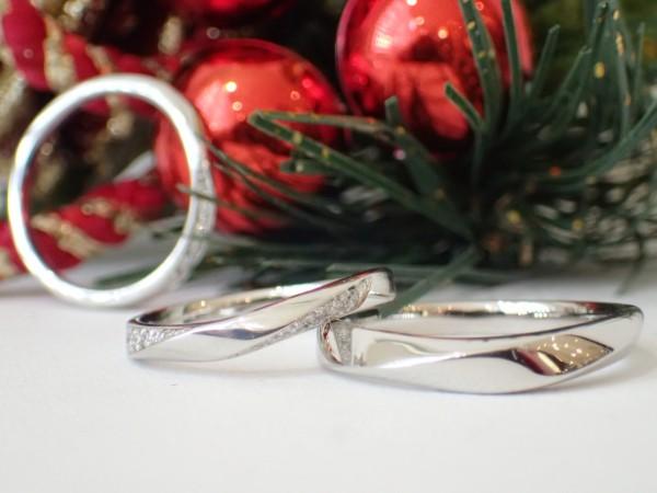 カフェリング☆マリッジリング☆ノエル♪S字ラインリング★ 結婚指輪 - マリッジリング ブライダル イベント・フェアー 日記