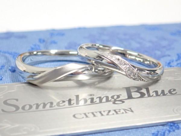 サムシングブルーのセットリング♪ 結婚指輪 - マリッジリング ブライダル 婚約指輪 - エンゲージリング 婚約指輪&結婚指輪 - セットリング