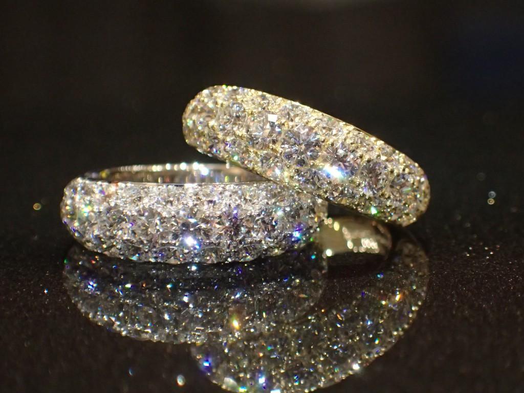 oomiya和歌山本店☆CHARのダイヤモンドパヴェリングが入荷しました♪