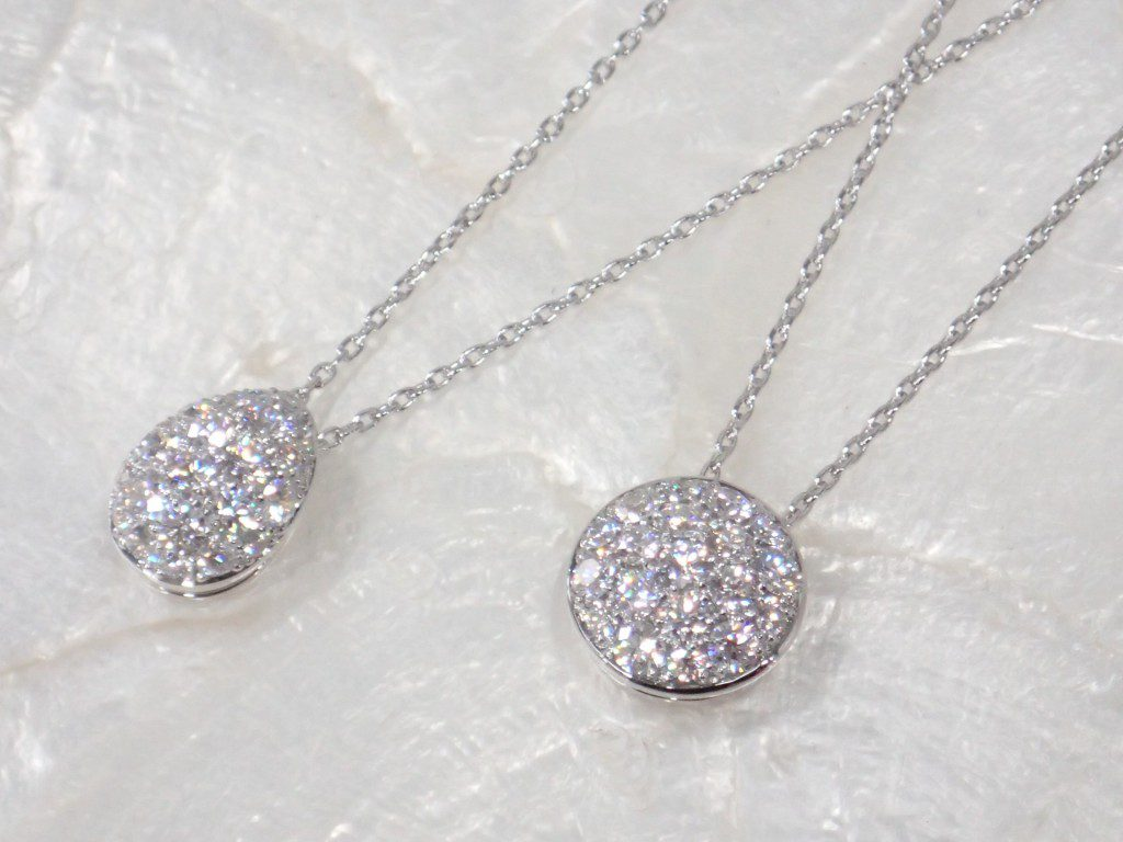 CHARのダイヤモンドネックレスが入荷しました♪