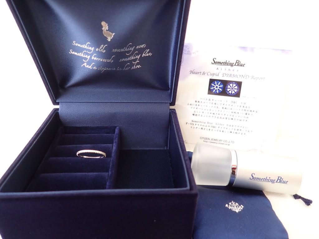 サムシングブルー新作☆ダイヤモンドフルエタニティーリングが入荷しました♪
