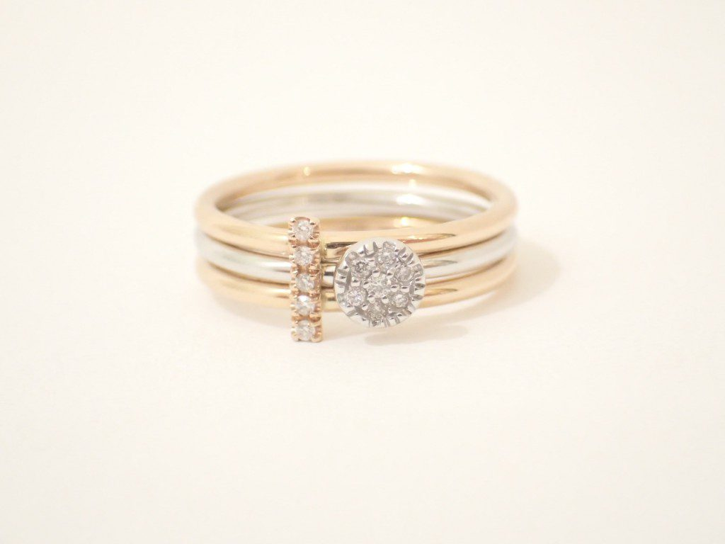 GOLD&Rosesのダイヤモンドリングが入荷しました♪