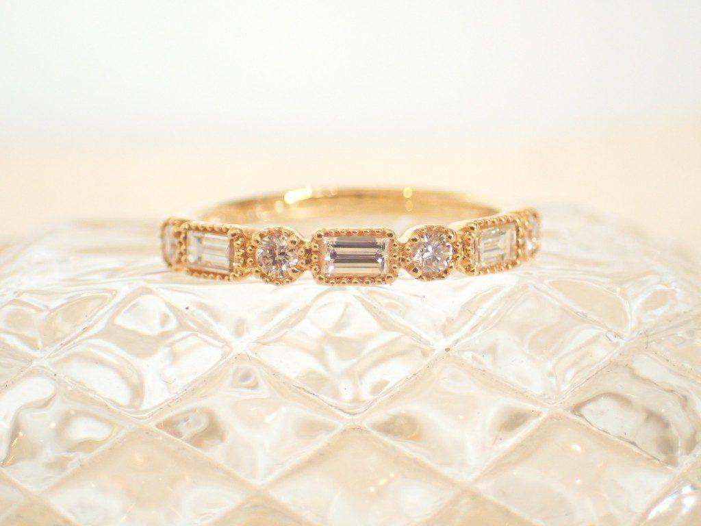 心がきゅん とするかわいらしさ♪こだわりのダイヤモンドリング