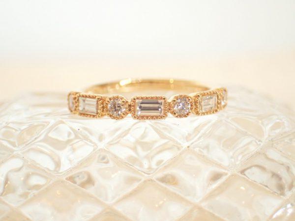 心がきゅん とするかわいらしさ♪こだわりのダイヤモンドリング ファッションジュエリー 結婚指輪 - マリッジリング