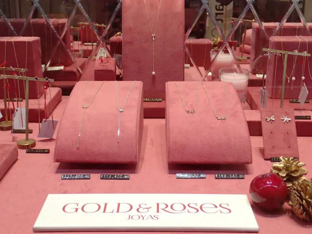 GOLD&Roses『ゴールド&ローゼス』2016新作ジュエリーが入荷しました♪