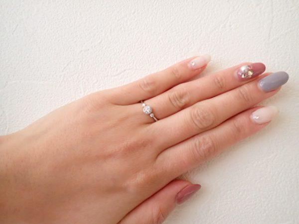 隠れミッキー&ミニーを見つけてみて下さい♬ ブライダル 婚約指輪&結婚指輪 - セットリング その他