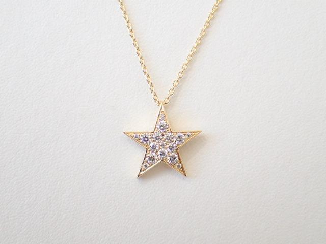 チャーの最高品質のダイヤモンドネックレス!スターモチーフを身に着けて、とびっきりの幸せを手にいれちゃいましょ♡