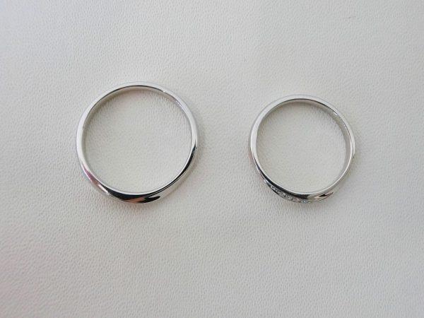 大人可愛いシンプルさが人気♡カフェリングのマリッジリング 結婚指輪 - マリッジリング ブライダル