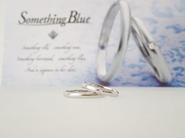 サムシングブルーマリッジリング☆H&Cグレードアップキャンペーン 結婚指輪 - マリッジリング ブライダル