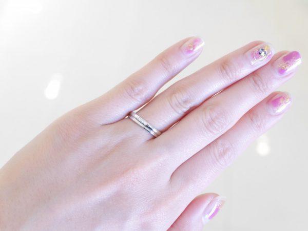 白と白。ブラン・エ・ブラン。 結婚指輪 - マリッジリング ブライダル その他