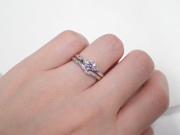 カフェリング☆今しか見れないブライダルリング 結婚指輪 - マリッジリング ブライダル 婚約指輪 - エンゲージリング 婚約指輪&結婚指輪 - セットリング