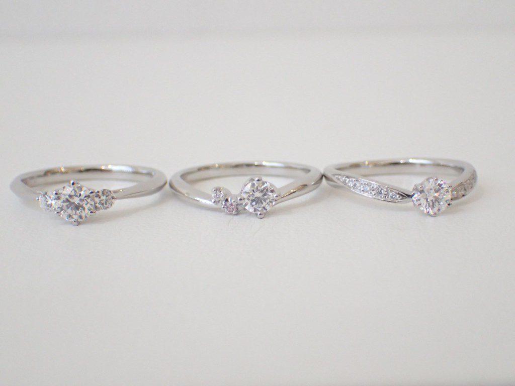人気の婚約指輪TOP3💍