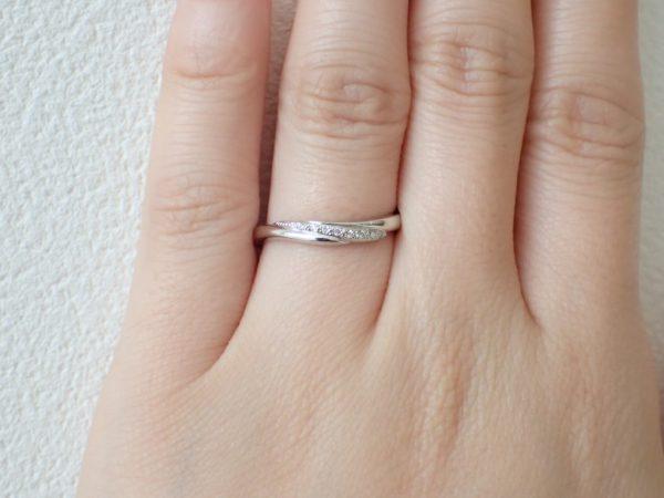 カフェリング/幸福をもたらすリング 結婚指輪 - マリッジリング ブライダル 婚約指輪 - エンゲージリング 婚約指輪&結婚指輪 - セットリング