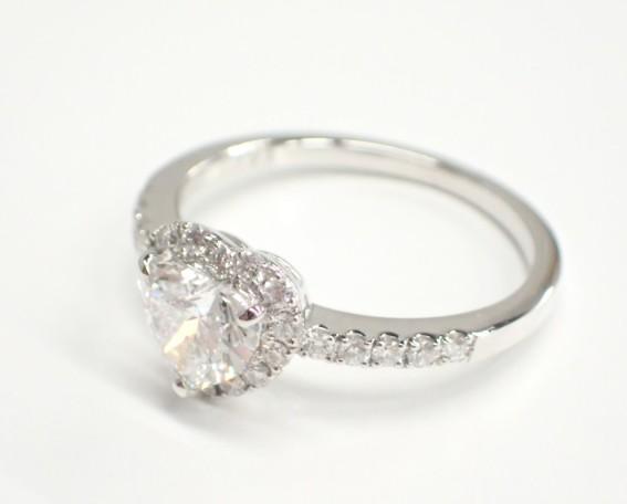 GIA鑑定書付きハートシェイプダイヤモンドリングが入荷しました♪ ファッションジュエリー