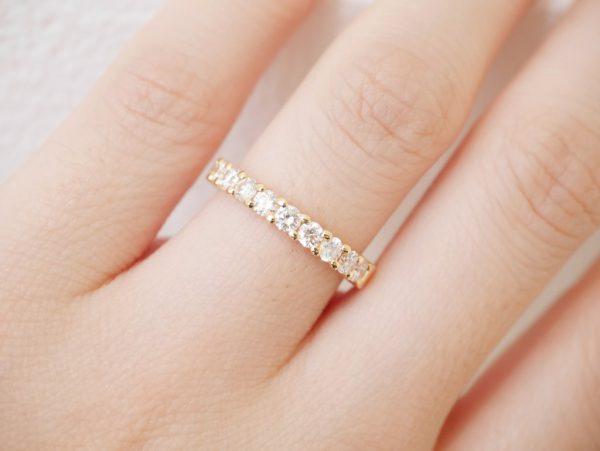 ゴールドの結婚指輪もカワイイ! 結婚指輪 - マリッジリング ブライダル 婚約指輪 - エンゲージリング 婚約指輪&結婚指輪 - セットリング