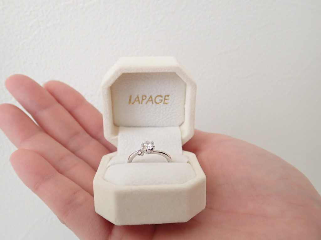 LAPAGE♡ピンクダイヤモンドフェア
