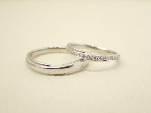 CafeRing/幸せを表現したセットリング 結婚指輪 - マリッジリング ブライダル 婚約指輪 - エンゲージリング 婚約指輪&結婚指輪 - セットリング