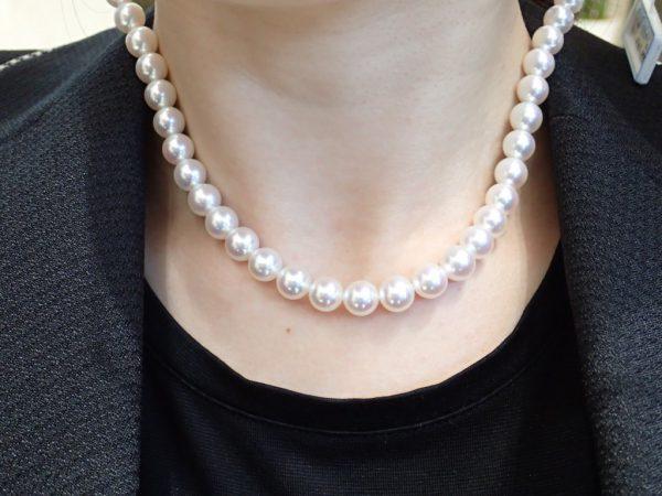 上品な輝きを放つ純国産真珠『WAKANA』新珠ネックレスが間もなく入荷! ブライダル