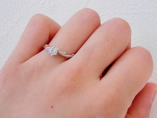 360°どこから見ても美しいラパージュ☆クラシックコレクション 婚約指輪 - エンゲージリング その他