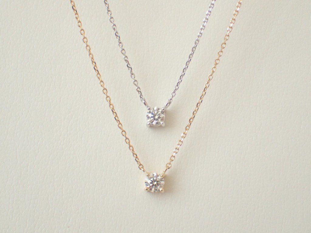 oomiyaオリジナル☆可愛いダイヤモンドネックレスが入荷しました♪