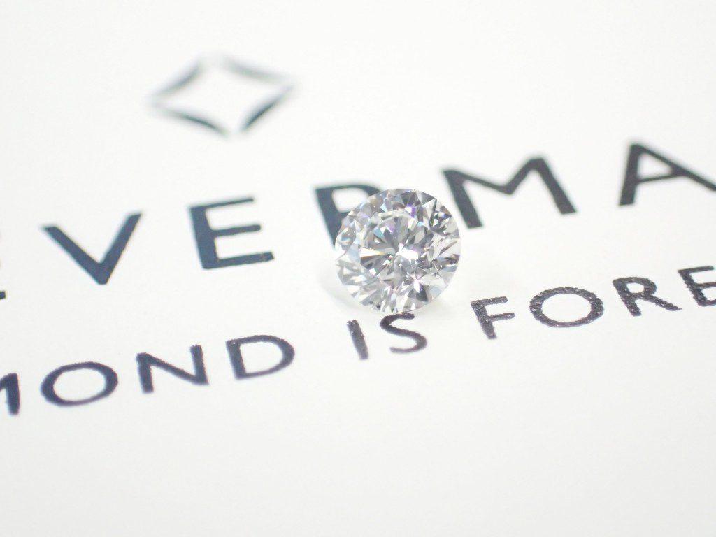 フォーエバーマークダイヤモンドでオリジナルジュエリーお作りします♪
