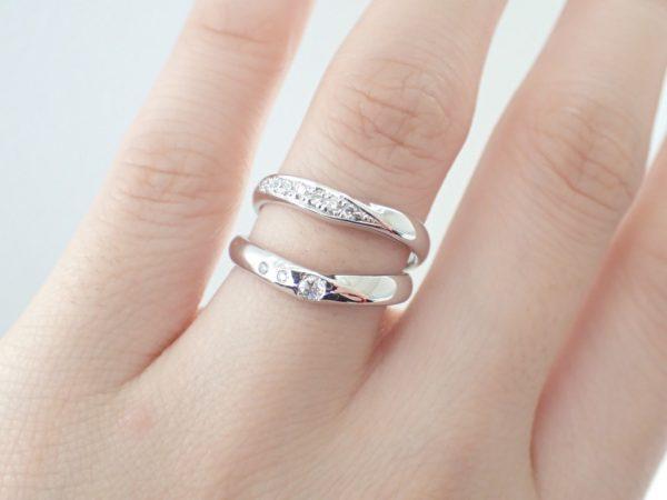 カフェリング/ぷっくりとしていて可愛い♡フィナンシェ 結婚指輪 - マリッジリング ブライダル 婚約指輪 - エンゲージリング 婚約指輪&結婚指輪 - セットリング イベント・フェアー