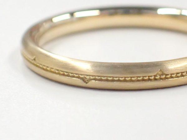 美女と野獣ブライダルリング☆『薔薇のとげ』をイメージしたデザイン 結婚指輪 - マリッジリング ブライダル
