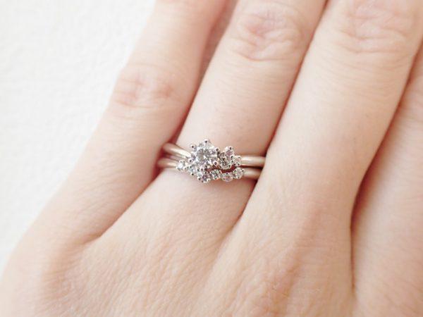 CafeRingおすすめセットリング☆ 結婚指輪 - マリッジリング ブライダル 婚約指輪 - エンゲージリング 婚約指輪&結婚指輪 - セットリング