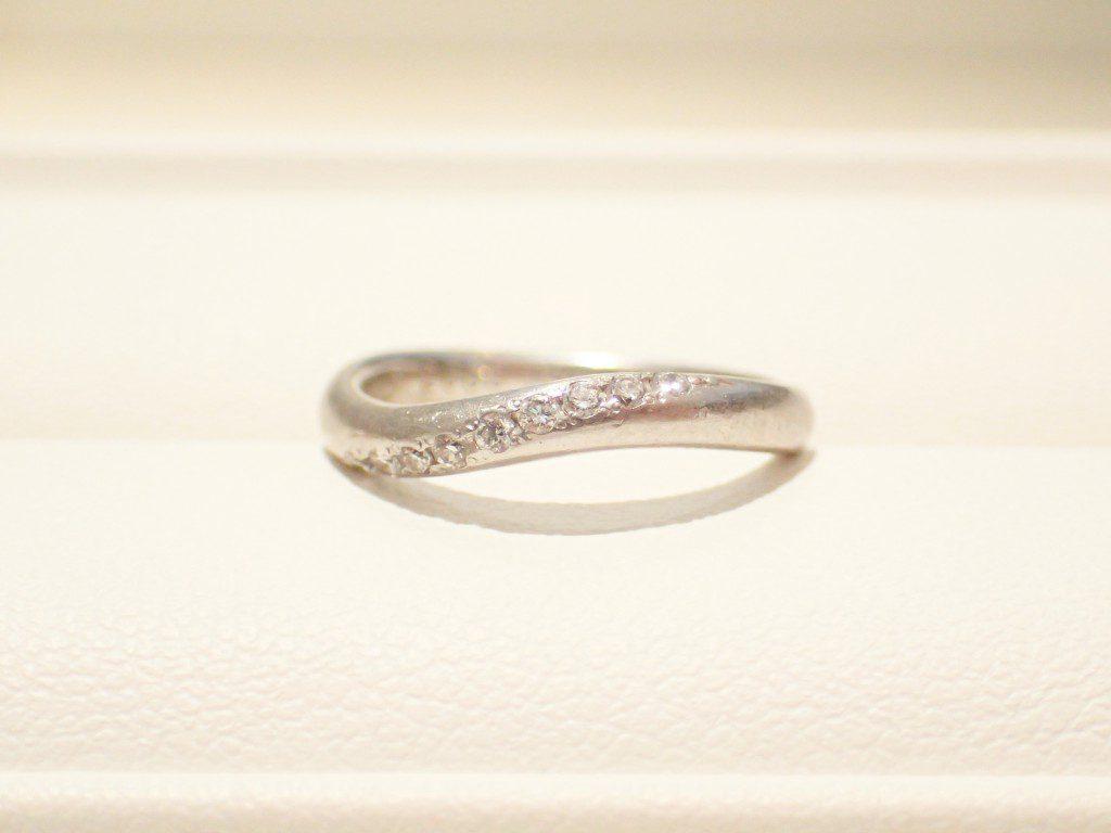 お客様のご結婚指輪をクリーニングさせていただきました♪