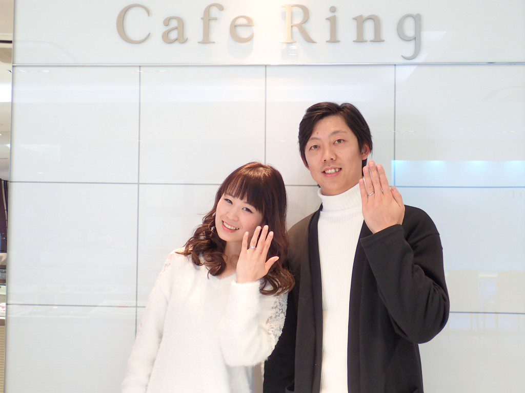ご結婚10週年にカフェリングのダージリンンをお選びいただきました♪