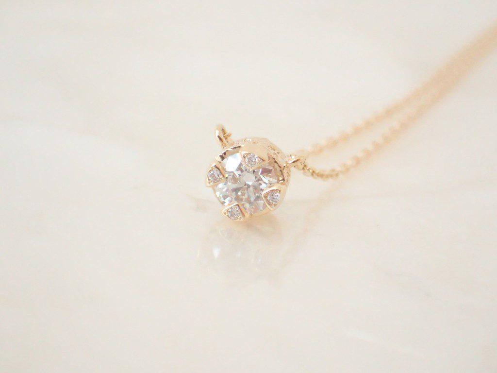 oomiyaスタッフ愛用☆ローリロドキンのダイヤモンド一粒ネックレス