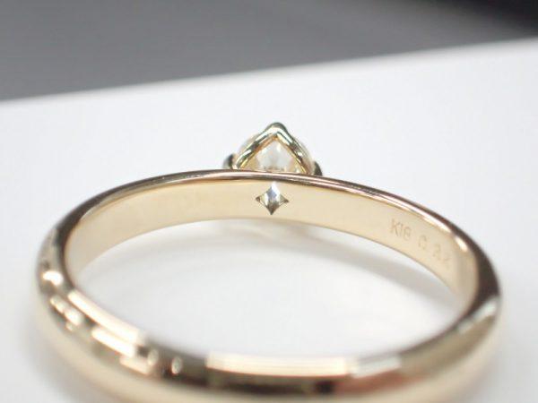 フォーエバーマークのシンプルソリティアリング☆フォーエバーセッティング♪ ファッションジュエリー ブライダル 婚約指輪 - エンゲージリング
