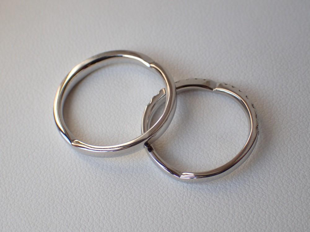 ロディコ☆二人だけのハートがロマンチックなマリッジリング