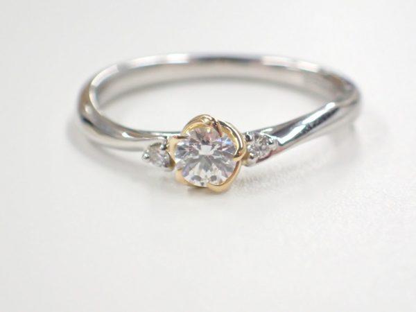 『美女と野獣』限定ブライダルリング☆『オール・ザ・ホワイル』のエンゲージリング 結婚指輪 - マリッジリング ブライダル 婚約指輪 - エンゲージリング 婚約指輪&結婚指輪 - セットリング