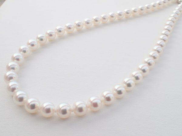 6月の誕生石、パールのネックレス ファッションジュエリー 真珠 - パール
