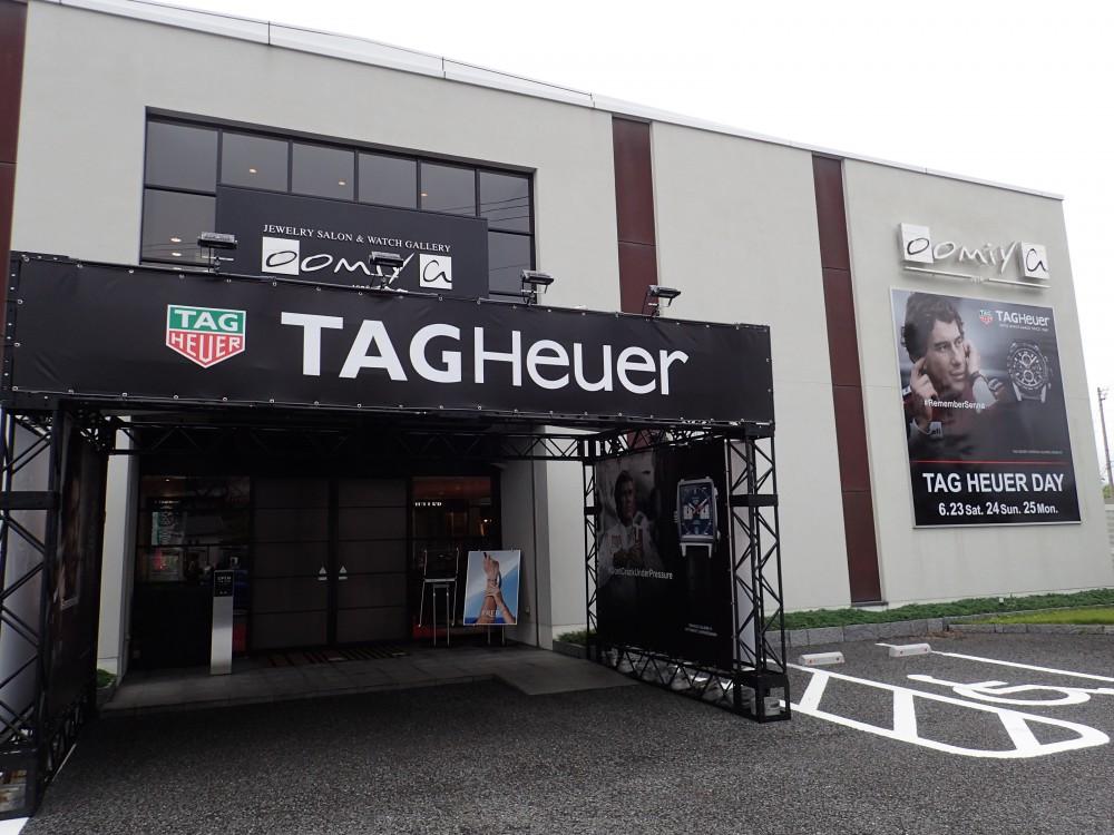 本日より和歌山本店にて年に1度のタグホイヤーディ始まりました!!