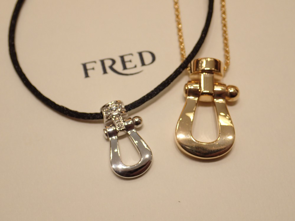 フレッドのフォース10ネックレス/記念日や誕生日プレゼントにもおすすめ!