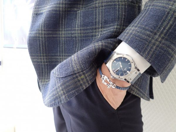 フレッドコレクション本日が最終日です!ウブロの時計と重ねづけコーデ♪ フレッド ファッションジュエリー メンズジュエリー イベント・フェアー