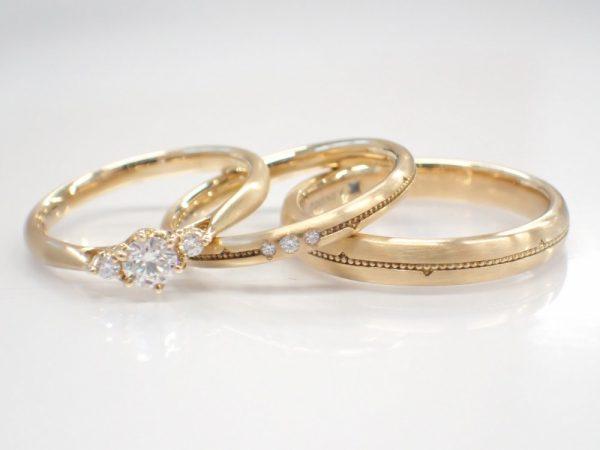 美女と野獣ブライダルコレクション☆キャンペーン終了まであと少しとなりました。 結婚指輪 - マリッジリング ブライダル 婚約指輪 - エンゲージリング 婚約指輪&結婚指輪 - セットリング