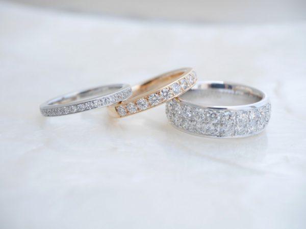 フラージャコーのエタニティリング/カルティエと合わせてコーディネート ファッションジュエリー 結婚指輪 - マリッジリング ブライダル 婚約指輪 - エンゲージリング