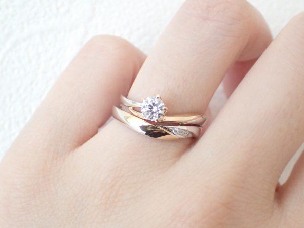ラパージュのブライダルリングはコンビネーションがお勧め♪ 結婚指輪 - マリッジリング ブライダル 婚約指輪 - エンゲージリング 婚約指輪&結婚指輪 - セットリング