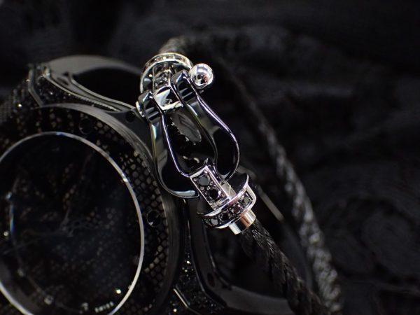 遊び心くすぐるウブロビッグバンとフレッドフォース10のブラックコーデ☆ フレッド ファッションジュエリー