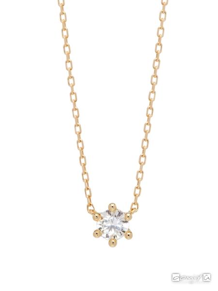 アーカー|ロシアンダイヤモンドネックレス - AB1454010100