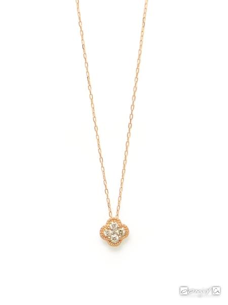 K18PG×ダイヤモンド(0.200ct)