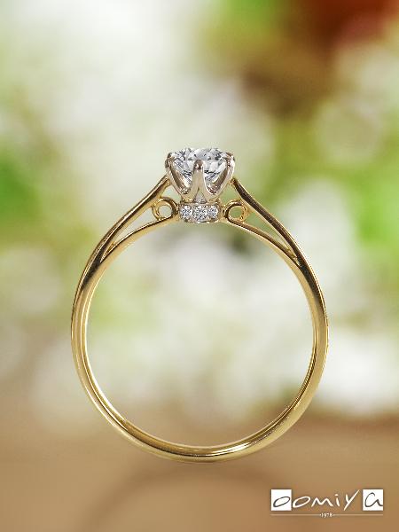 ラパージュ|クラシック コレクション ポン・マリー - No.1306 婚約指輪(エンゲージリング)
